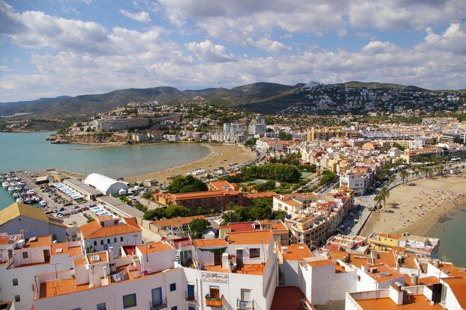 Vista desde el Castillo de Peñíscola Peñiscola España