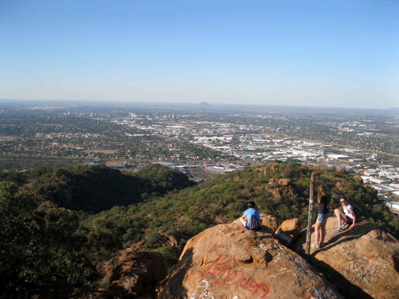 Vista desde la colina de Kgale Gaborone Botswana