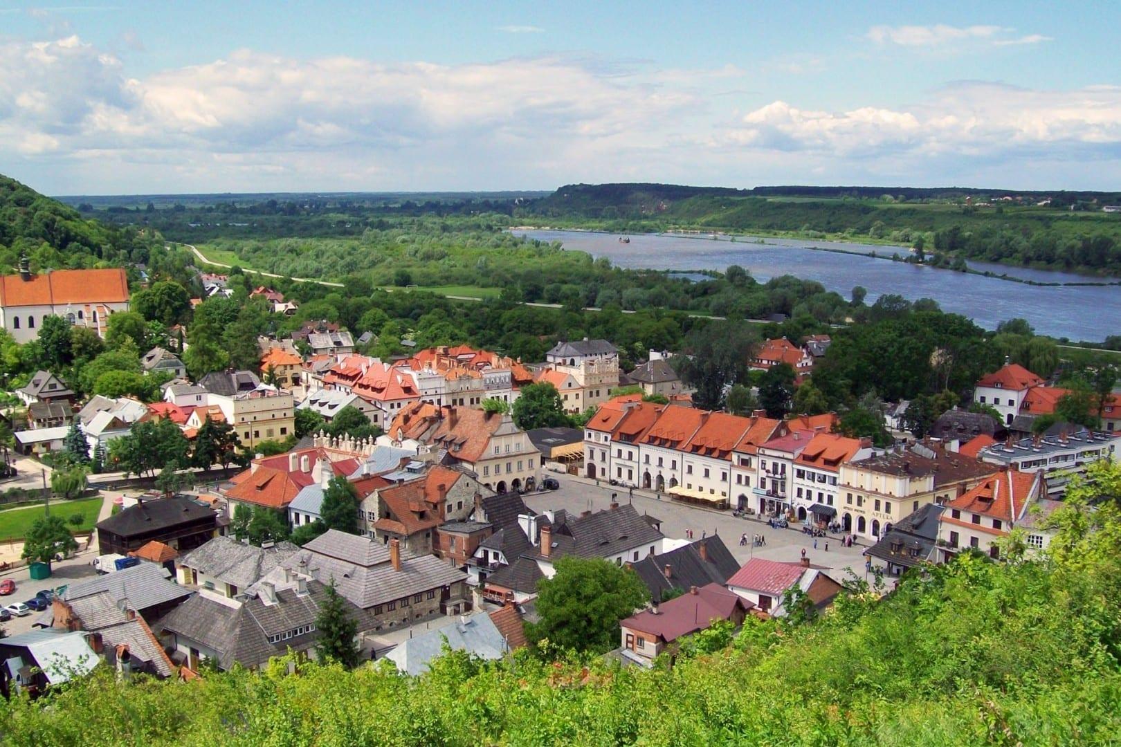 Vista sobre Kazimierz Dolny Kazimierz Dolny Polonia