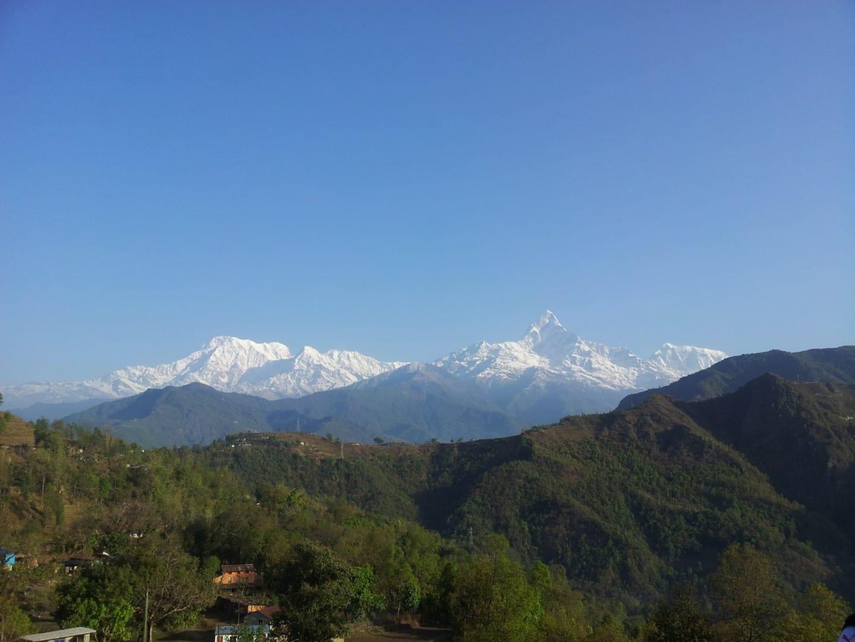 Vistas de Dhiki Danda Pokhara Nepal