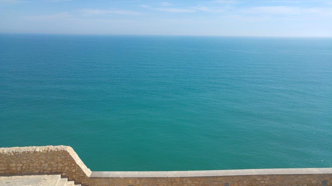 Vistas Mar Peñiscola España