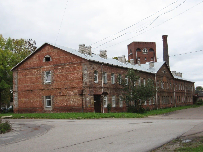 Vivienda de los trabajadores en Kreenholmi Narva Estonia
