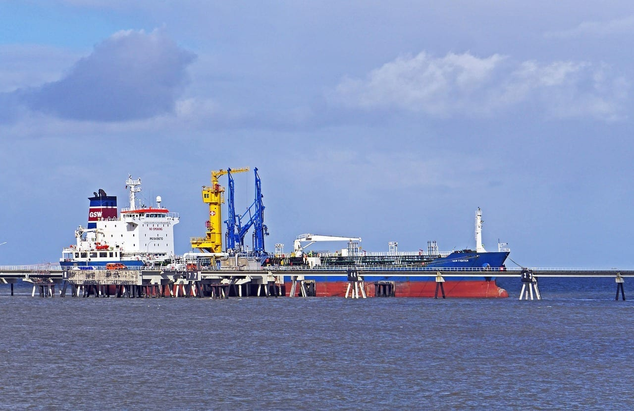 Wilhelmshaven Puente Del Mar Cisterna Alemania