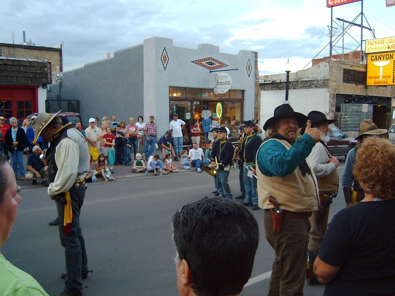 Williams con el desfile en la ciudad Williams AZ Estados Unidos