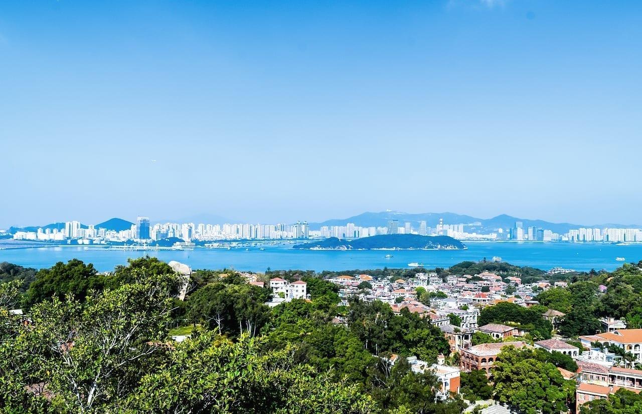 Xiamen Mar Océano China