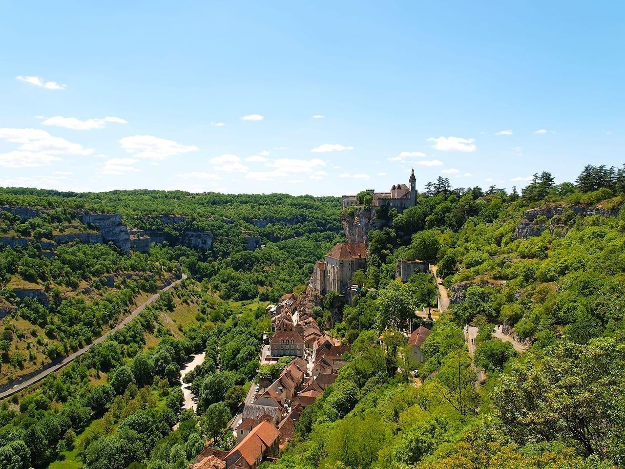 Aldea Turismo Rocamadour Francia