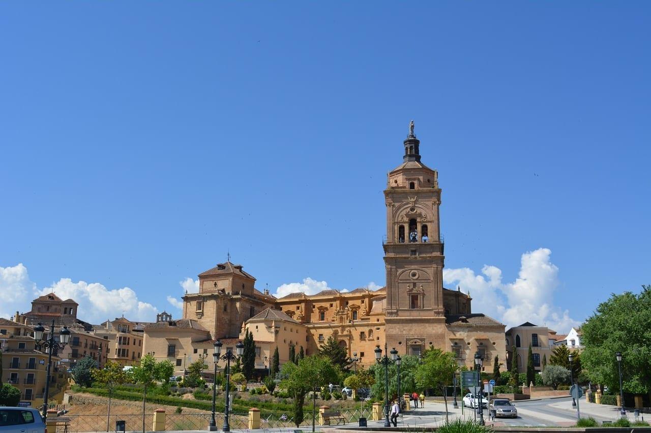 Andalucía Iglesia Guadix España