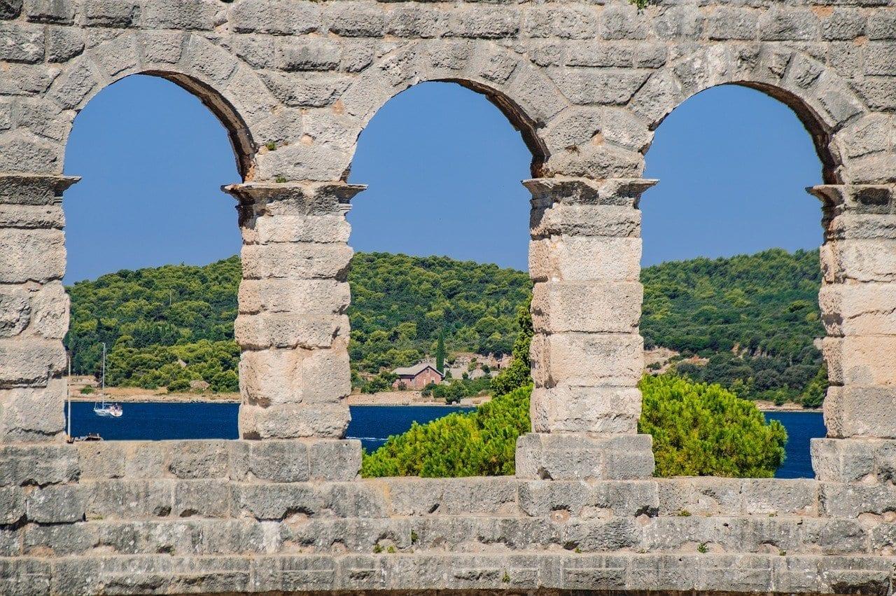 Anfiteatro Croacia Pula Italia
