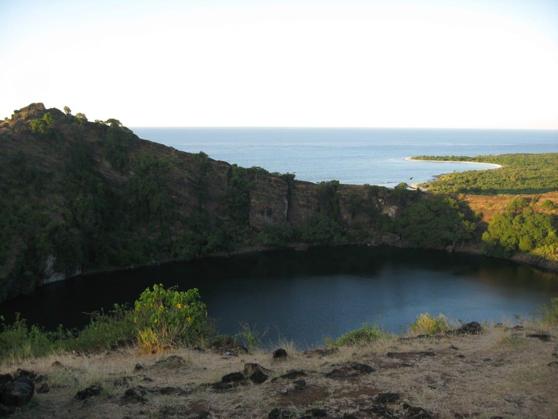Antiguo cráter volcánico Gran Comora Comoras
