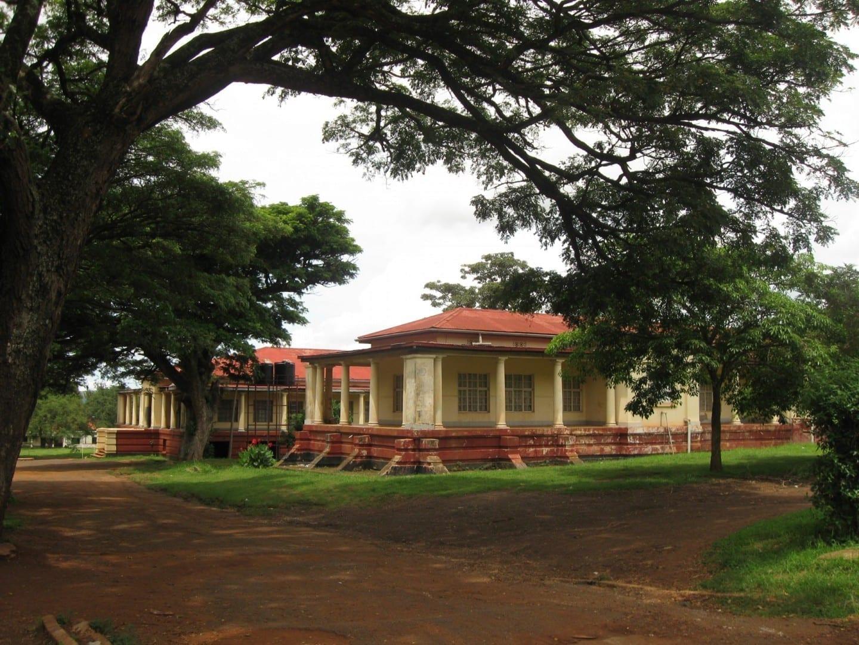 Antiguo magistrado colonial en Jinja Jinja Uganda
