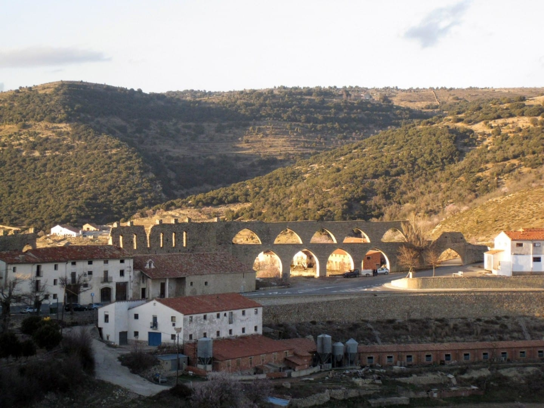 Aqüeducte de Santa Llúcia Morella España
