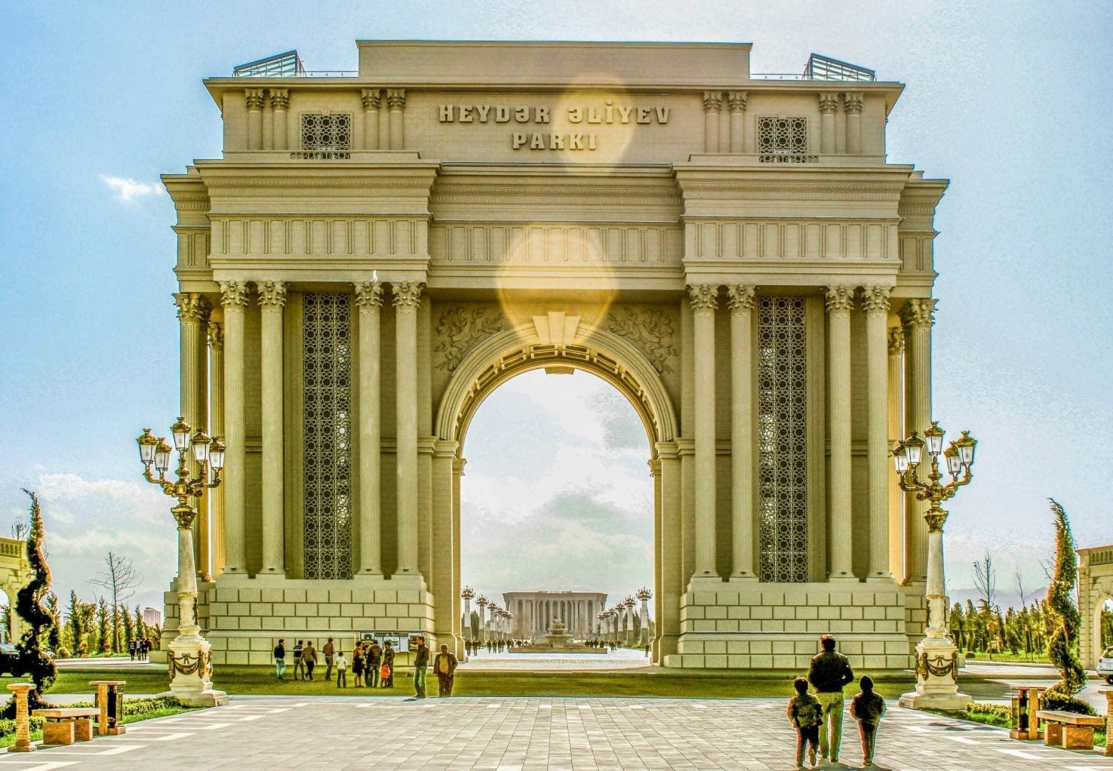 Arco de Triunfo Ganyá Azerbaiyán