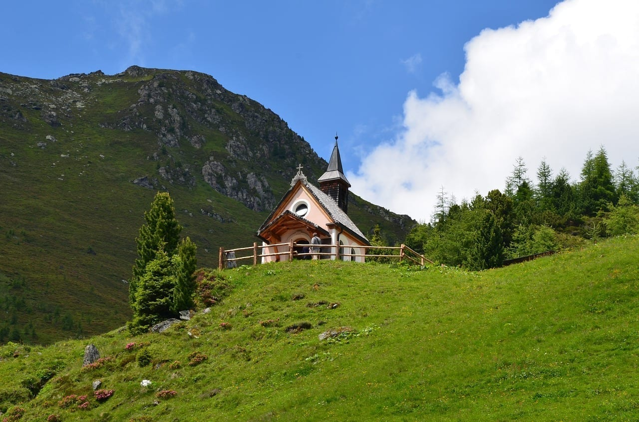 Austria Zillertal Capilla Austria