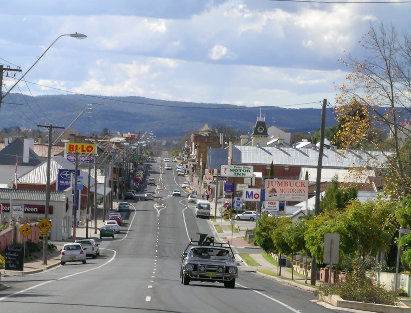 Autopista de Nueva Inglaterra, Tenterfield, NSW. Tenterfield Australia