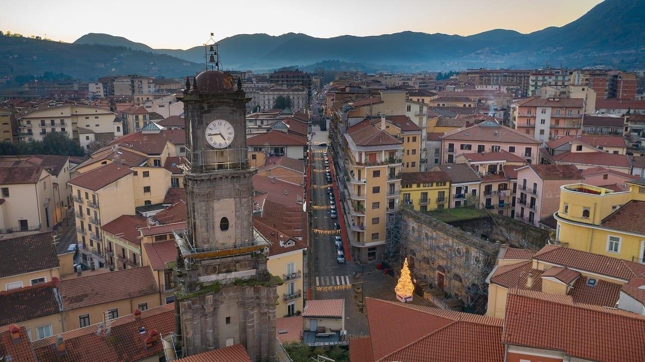 Avellino Ciudad Paisaje Italia