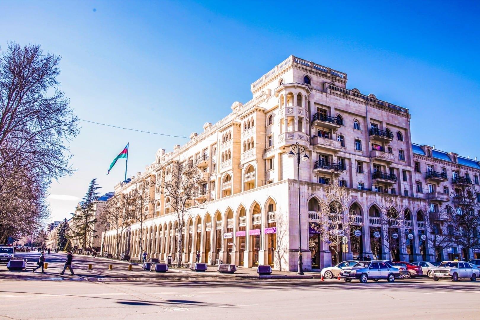 Avenida Ataturk Ganyá Azerbaiyán