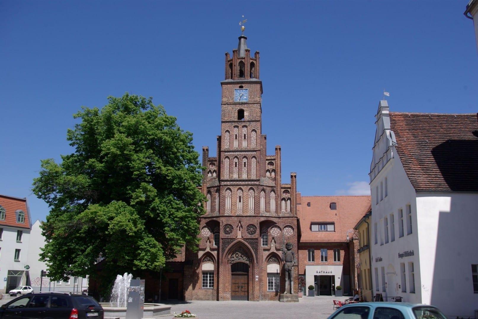 Ayuntamiento de la Ciudad Vieja Brandenburg Ciudad Alemania