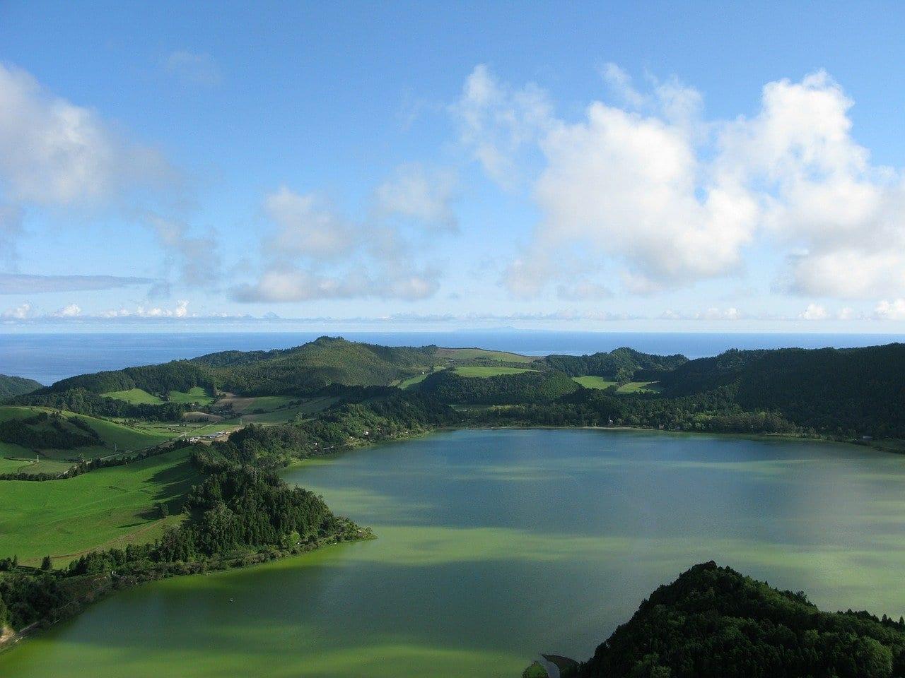 Azores Lago Verde Portugal