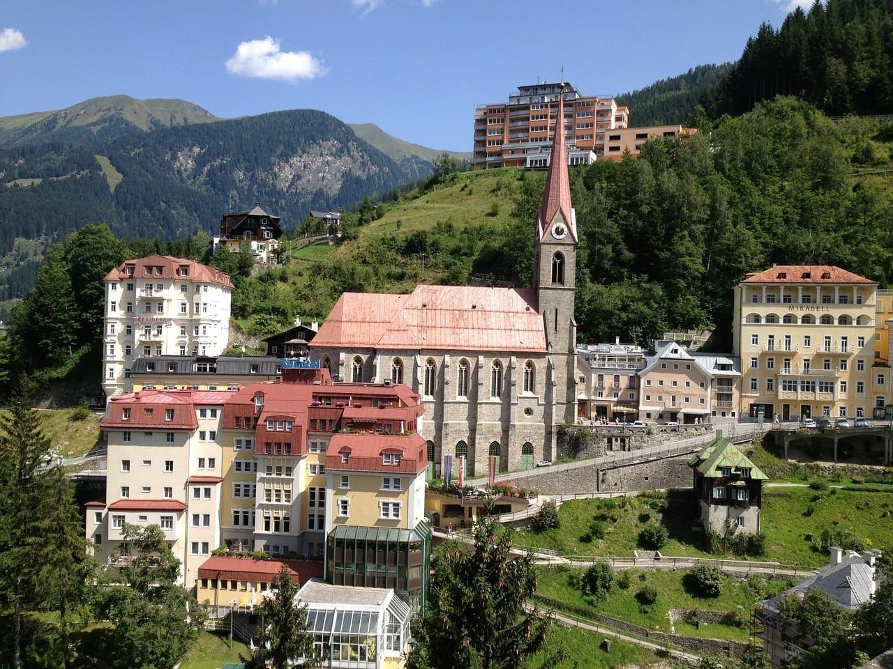 Bad Gastein Austria Montañas Austria