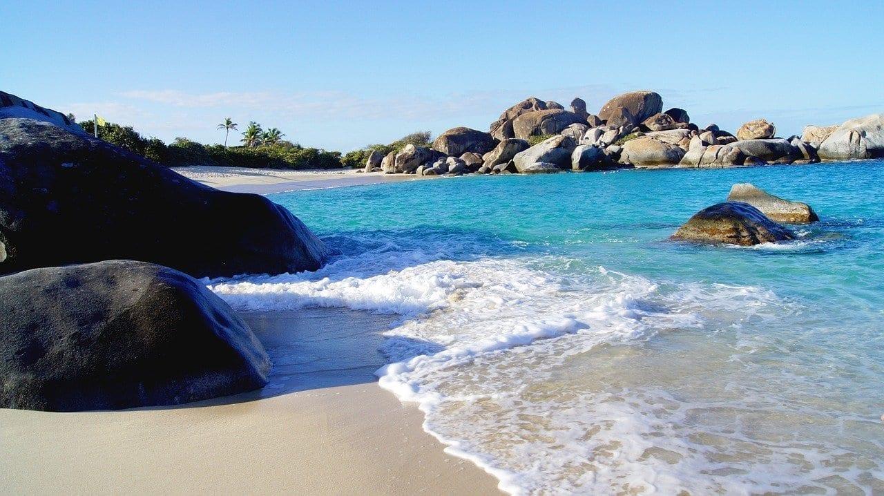 Bahía Demonios Virgin Gorda Islas Vírgenes Británicas Islas Vírgenes del Reino Unido
