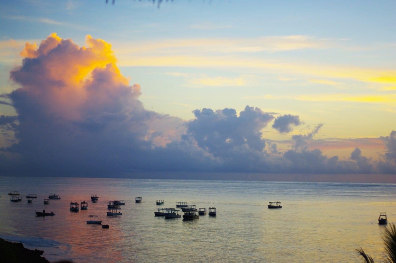 Barcos en Malindi Malindi Kenia
