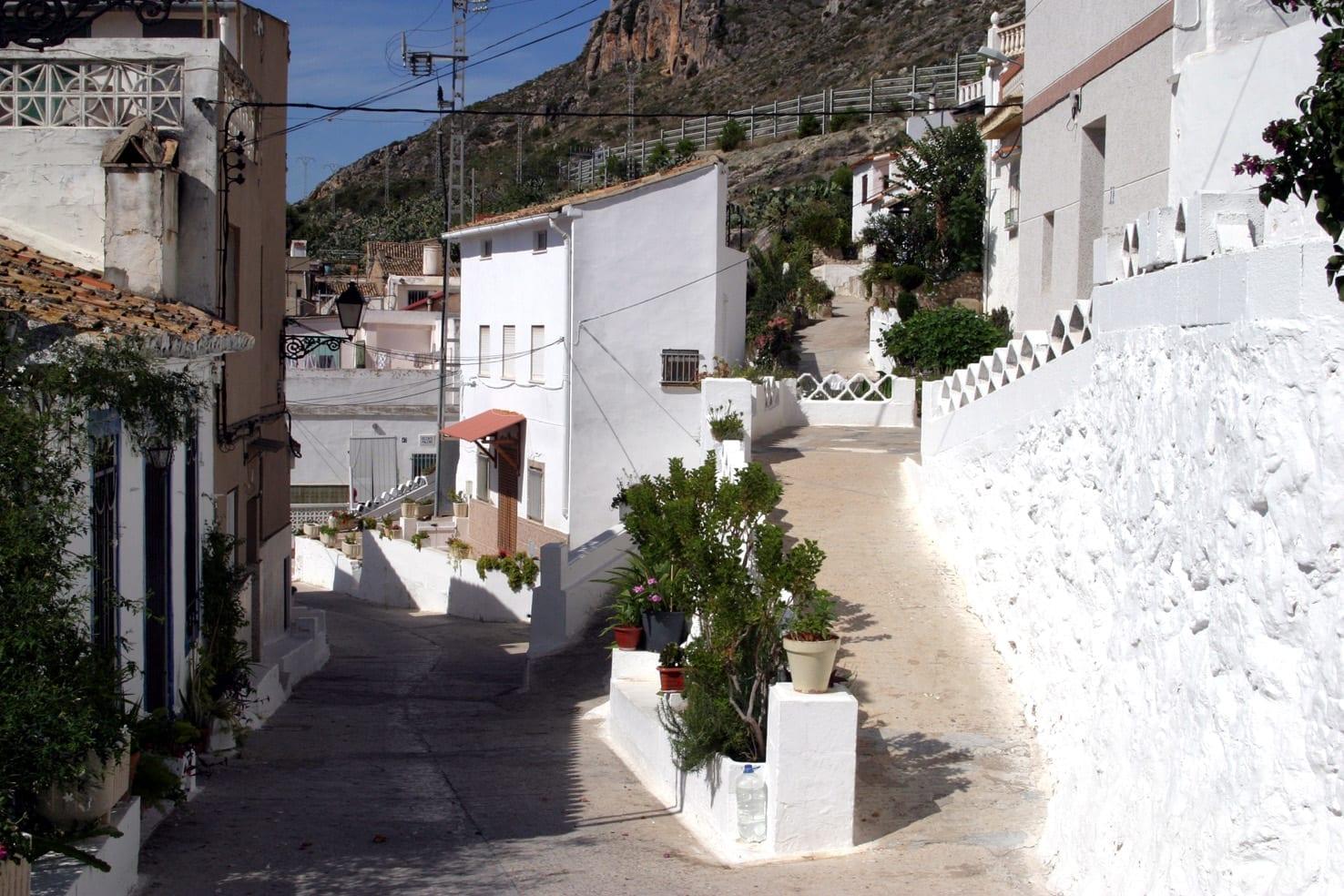 Barri Pou, el viejo barrio árabe Cullera España