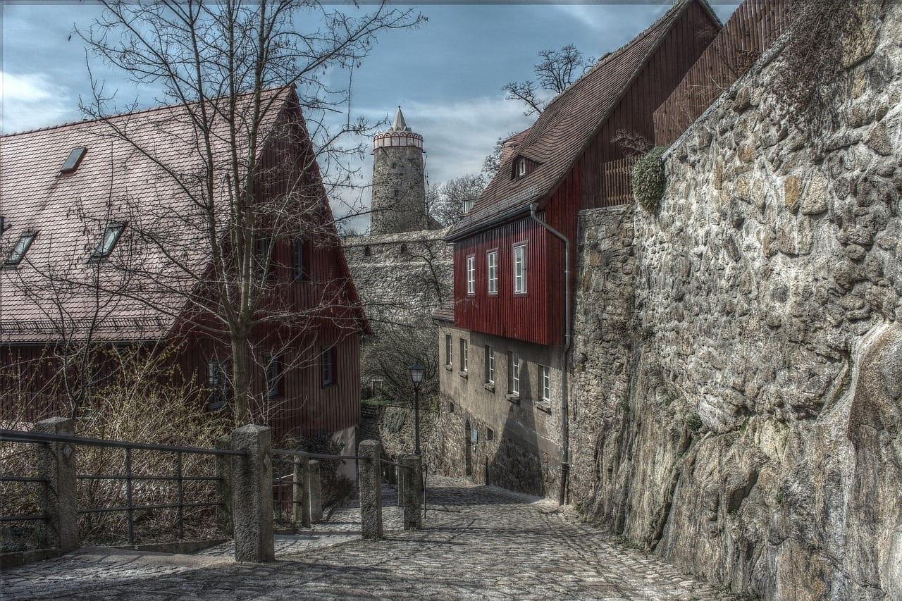 Bautzen Centro Historico Ciudad Alemania