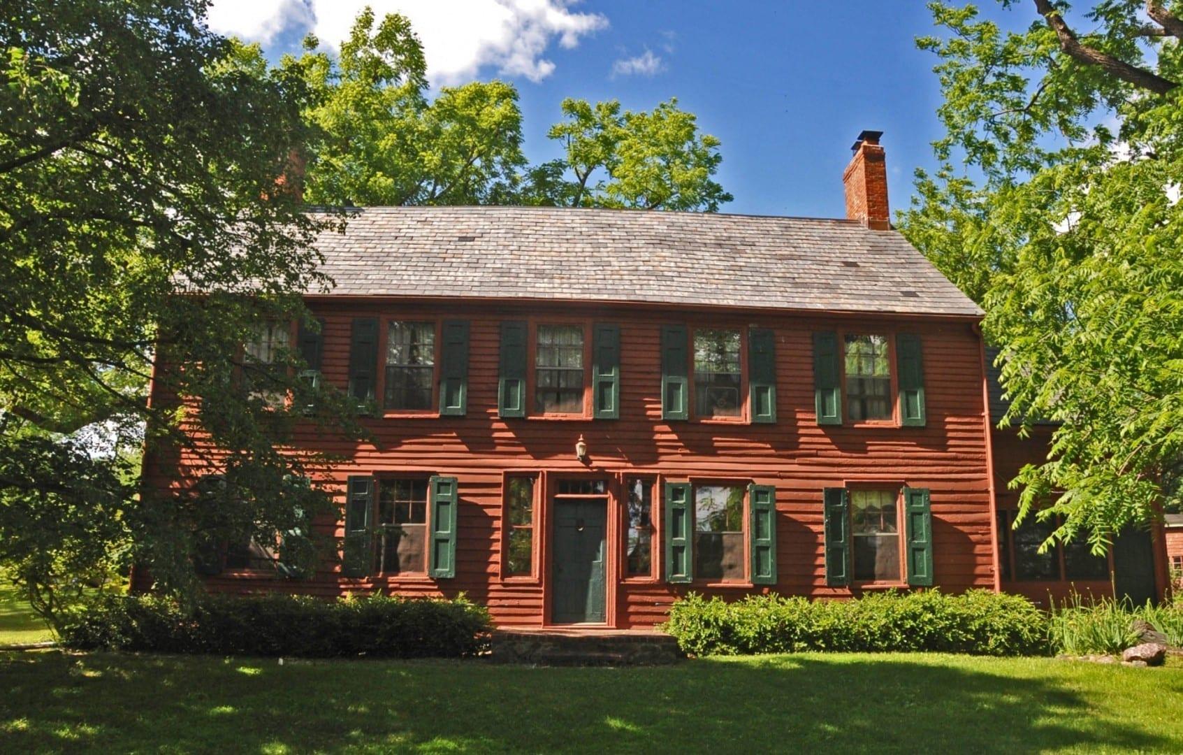 Benjamin Howell Homestead, construido en 1763 y ampliado y completado en 1793 Parsippany NJ Estados Unidos