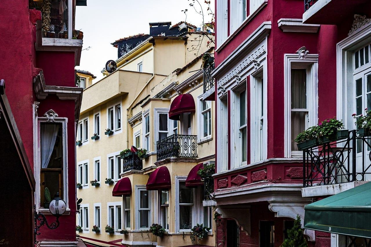 Beyoglu Calle Francés Fransiz Sokagi Turquía