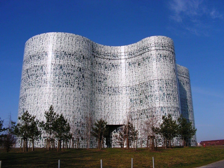 Biblioteca de la Universidad Cottbus Alemania