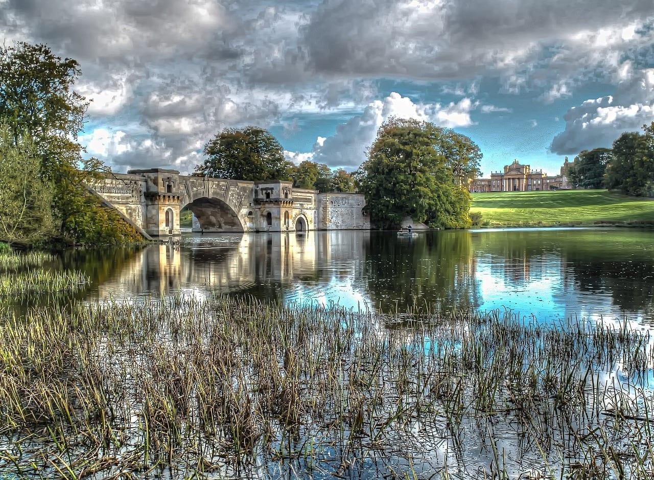 Blenheim Palace Oxfordshire Reino Unido Nueva Zelanda
