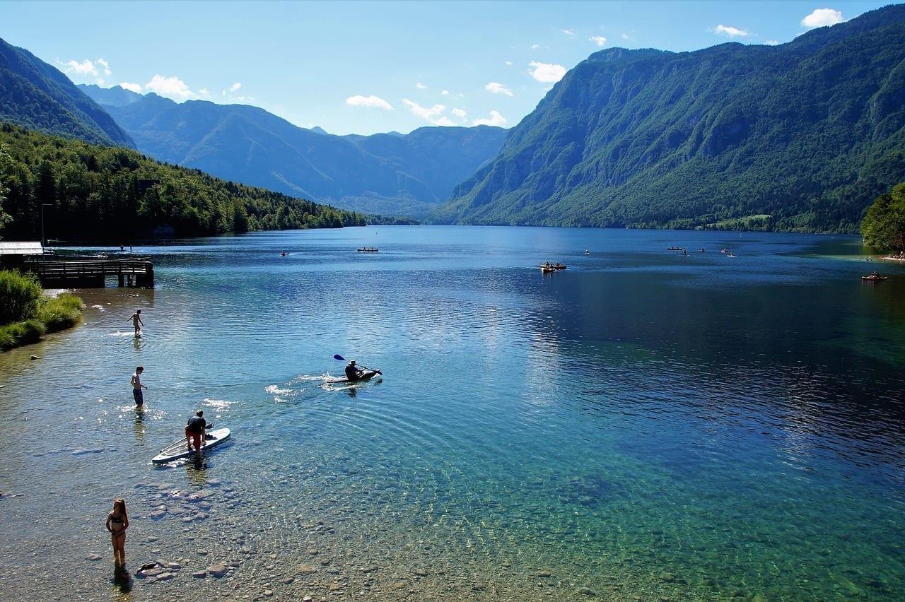 Bohinj Del Lago Bohinj Eslovenia Eslovenia