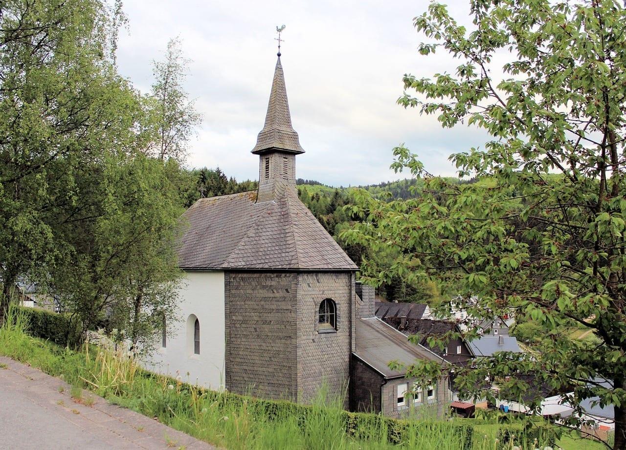 Bottrop Alemania Iglesia Kirchlein Alemania