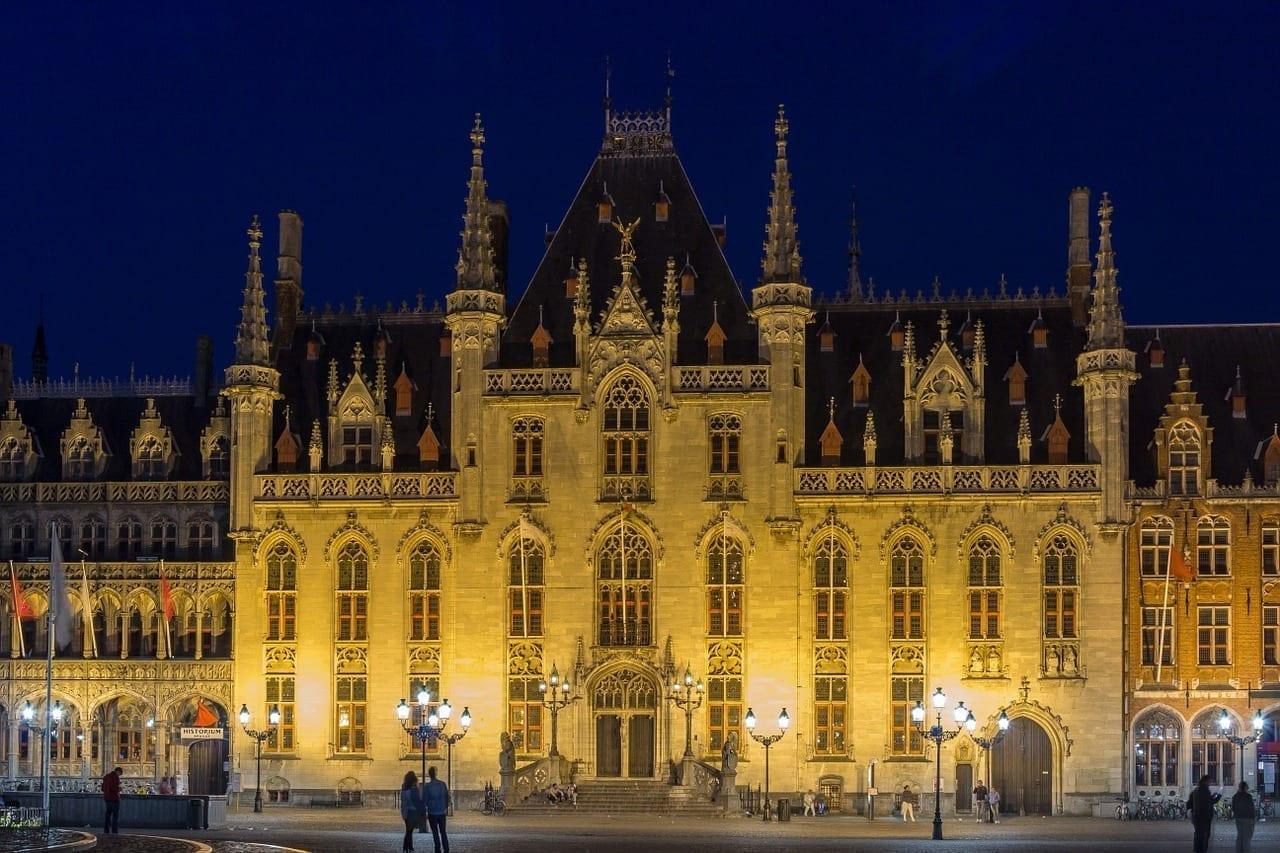 Brujas Provinciaal Hof Ayuntamiento Alemania