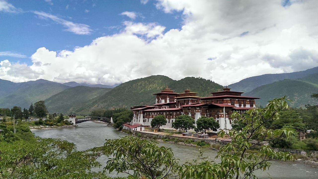 Bután Punakha Dzong Asia Bután