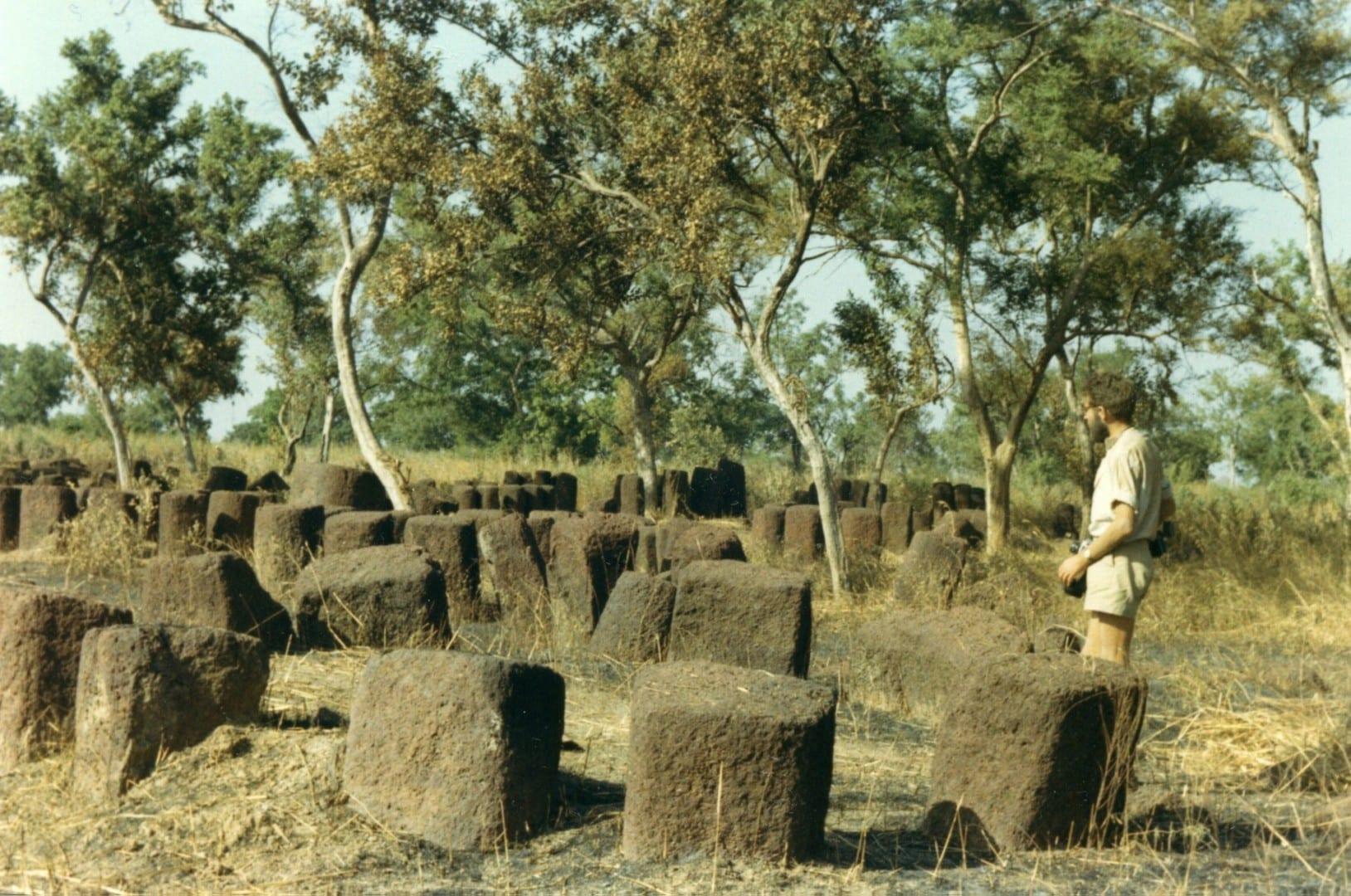 Círculos de piedra senegaleses Kaolack Senegal
