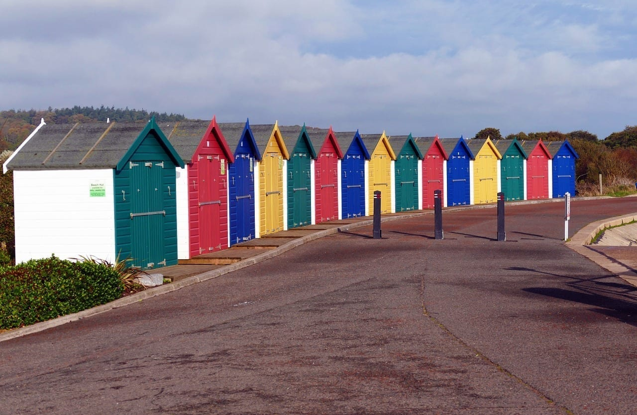 Cabañas De Playa Dawlish Warren Devon Reino Unido