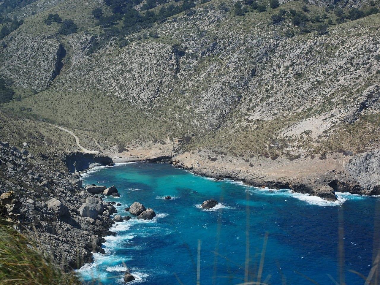 Cala Figuera Bahía Cap Formentor España