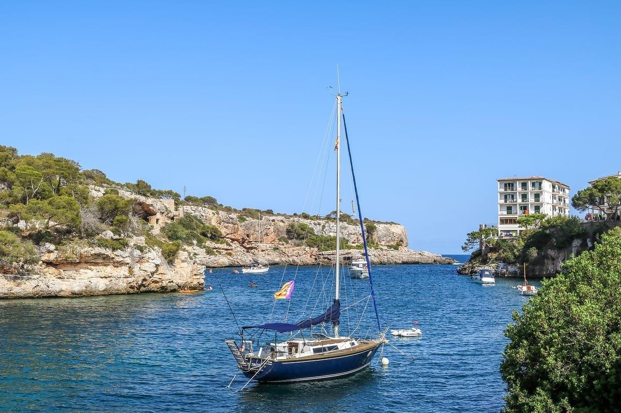 Cala Figuera Mallorca Bahía España