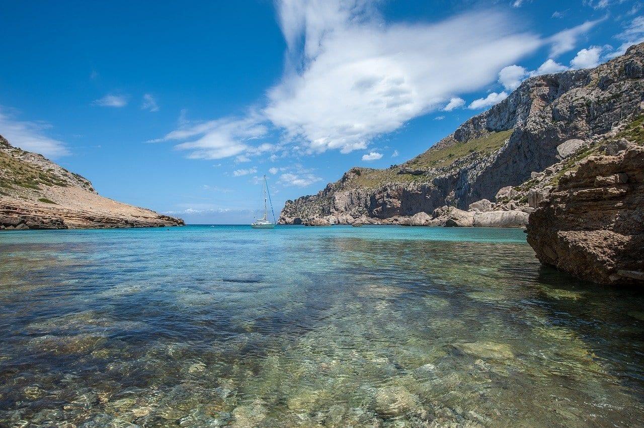 Cala Figuera Mallorca Verano España