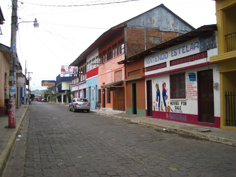 Calle en Rivas Tola Rivas Nicaragua