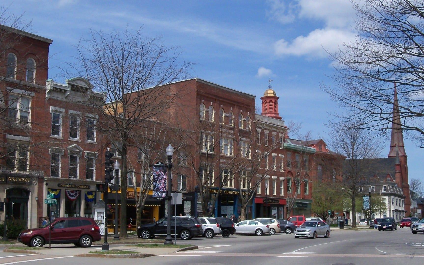 Calle principal Keene NH Estados Unidos