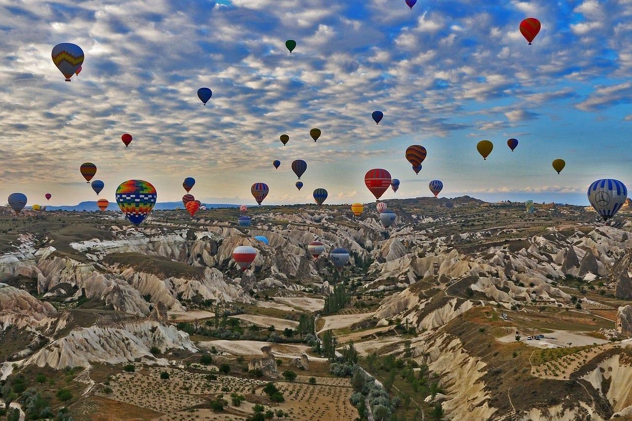 Capadocia De Viaje Turquía Turquía
