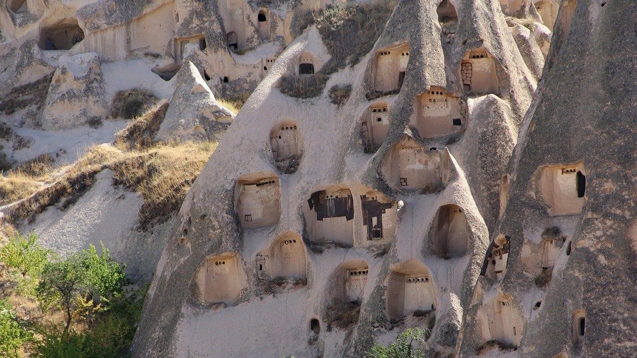 Capadocia Kapadokya Uchisar Turquía