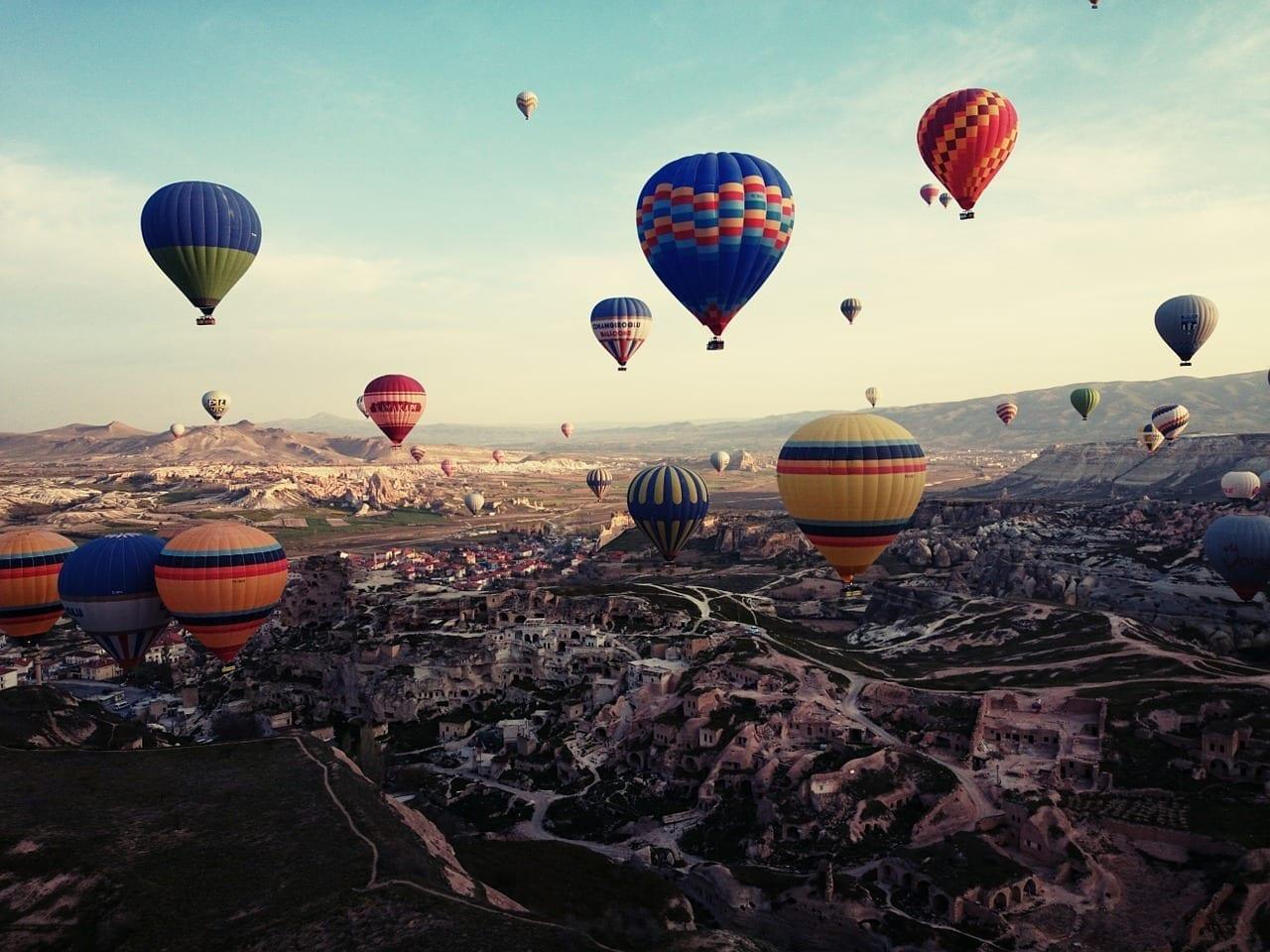Capadocia Turquía De Viaje Turquía