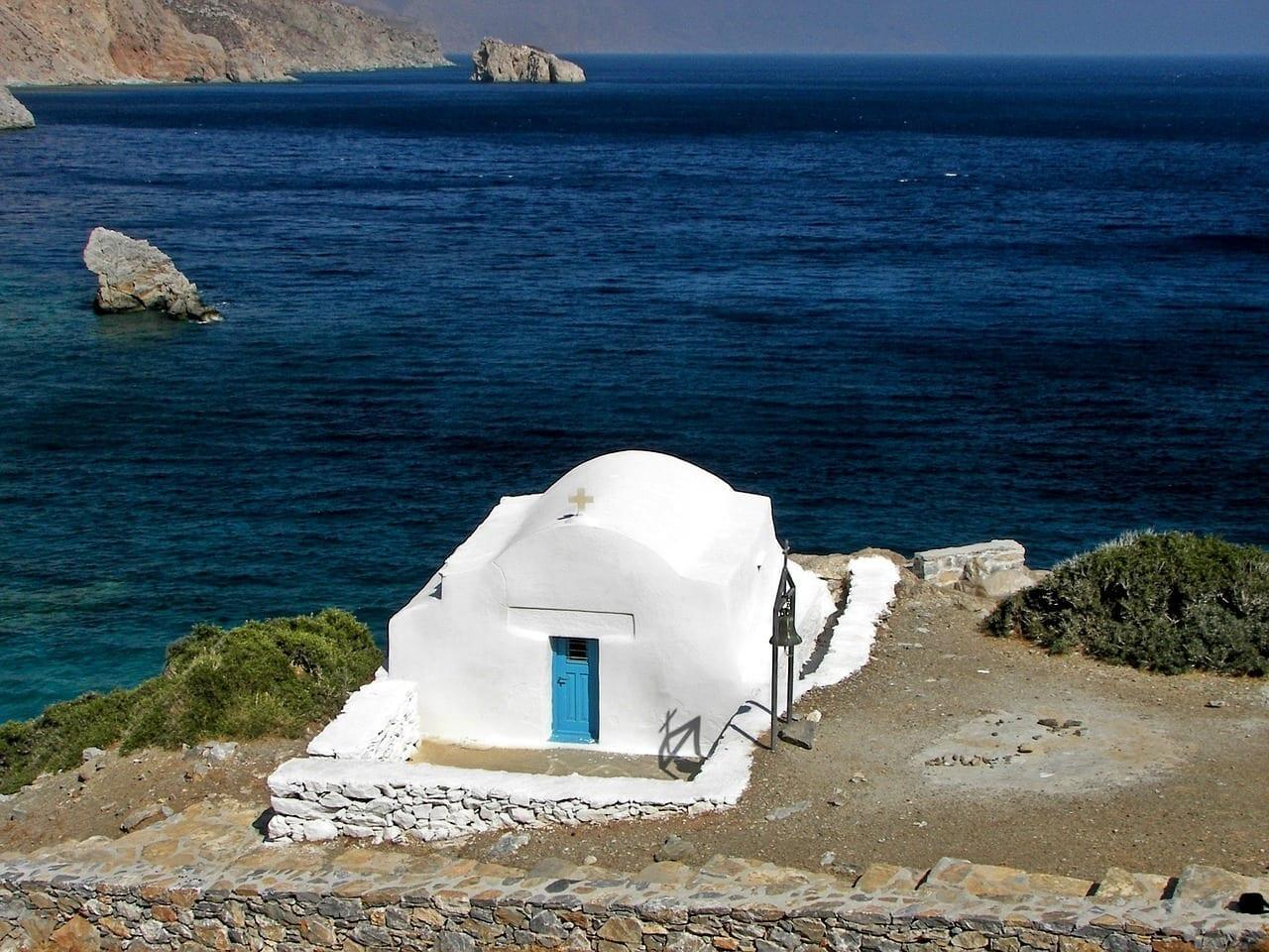Capilla Amorgos Cyclades Grecia