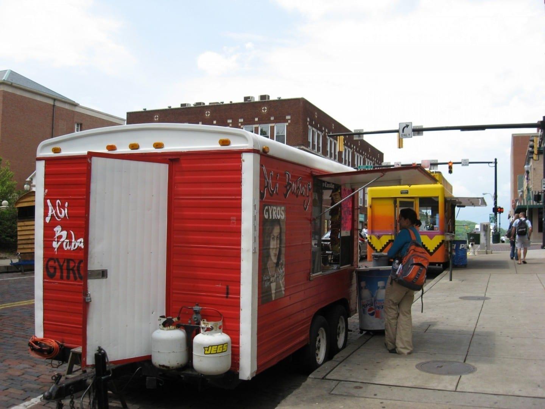 Carros de comida en Atenas Athens OH Estados Unidos