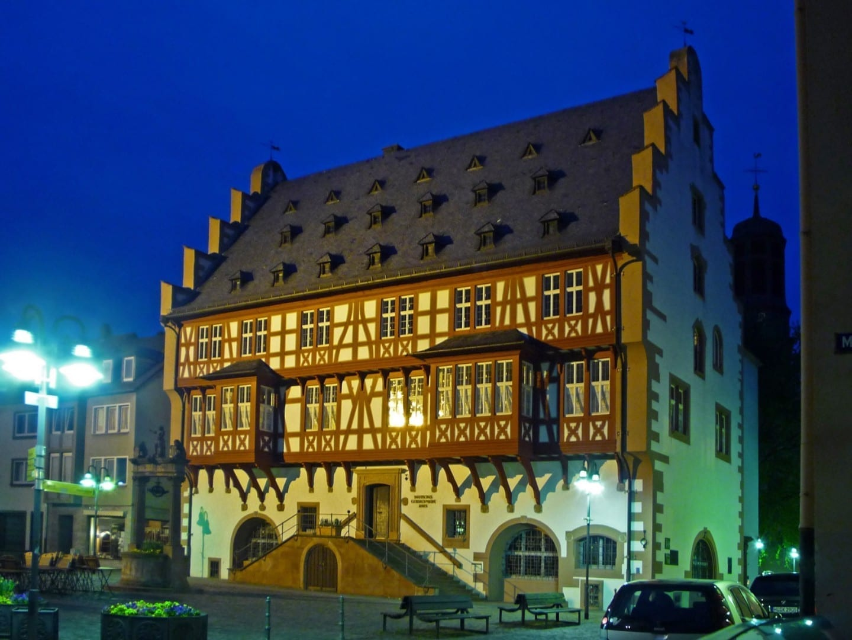 Casa Alemana de los Orfebres, antiguo ayuntamiento de Hanau Hanau Alemania