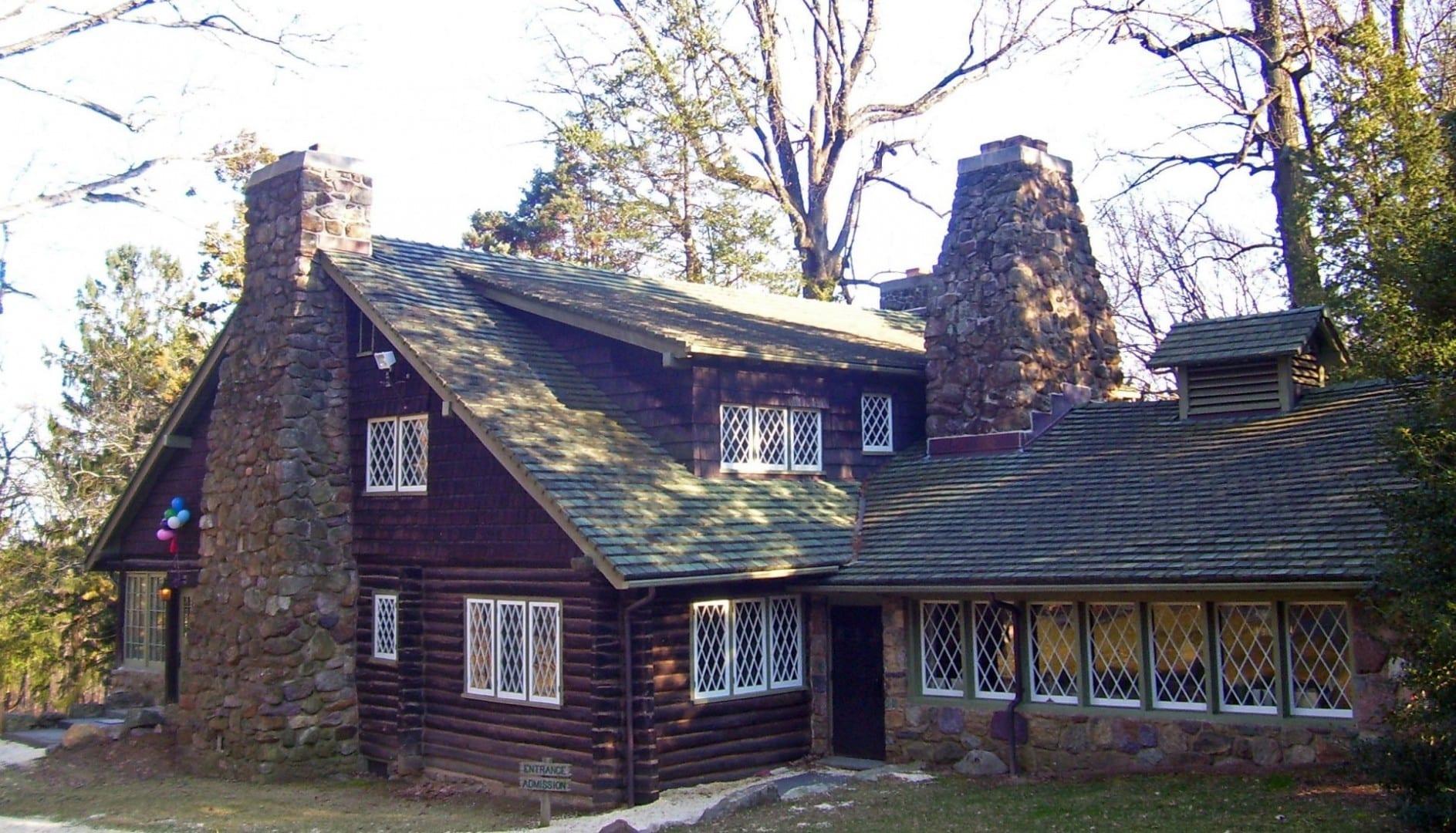Casa principal de las Granjas Artesanales (principios del siglo XX) Parsippany NJ Estados Unidos