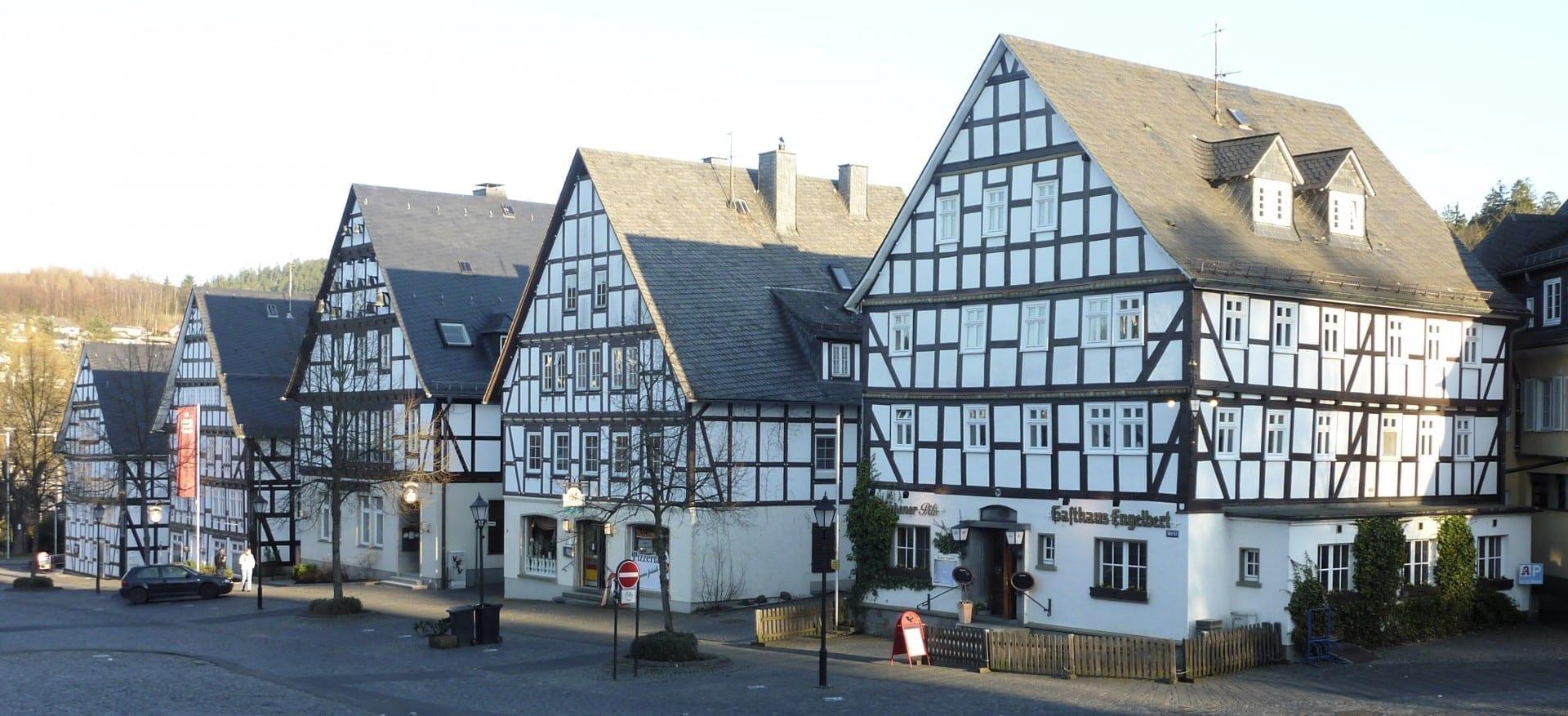 Casas de madera en Hilchenbach Siegen Alemania